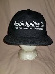 Vintage Ignition Austin Ignition Vintage Co TRUCK PARTS Trucker Hat ...