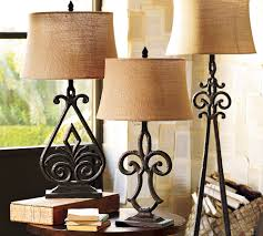 Pottery Barn Crystal Table Lamps by Creating Your Dream Decor With Pottery Barn Inspiration