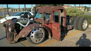 Art Rat Rod Semi Trucks