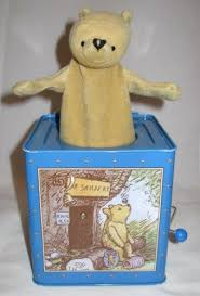 amazon com schylling winnie the pooh jack in the box toys