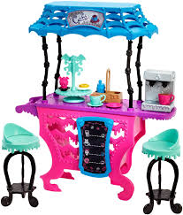 Monster High Twin Bed Set by Amazon Com Monster High Fright Roast Coffee Playset Toys U0026 Games