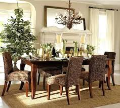Square Dining Room Table Centerpiece Ideas Tables Reclaimed Wood Rectangular Glass Pedestal