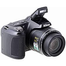 Nikon Coolpix L810 Digital Camera Black 3 inch LCD Amazon