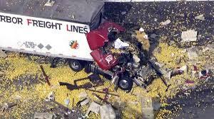 100 Big Truck Wrecks 2 Killed In Rig Crash On Highway 126 Lemons Spilled Across