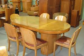 Enquire About Art Deco Dining Table And 6 Chairs
