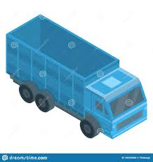 100 Toy Farm Trucks And Trailers Truck Icon Isometric Style Stock Vector Illustration