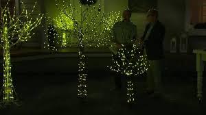 Qvc Pre Lit Christmas Trees by Santa U0027s Best All Season Outdoor Indoor Prelit Tree W Rgb