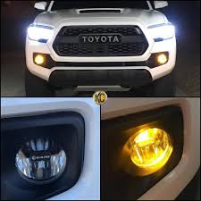 KC   LED Fog Lights (Universal & Tacoma Specific Versions)   Tacoma ... Kc Hilites Gravity Led Pro6 Modular Expandable And Adjustable Transforming A 2009 Gmc 2500hd Wkhorse With Lighting From Vision X 91308 50 160w Combo Beam Light Bar Ebay 19992007 F250 Super Duty Hilites 4 Tab Front End Kc7420 Wrangler In Cseries C50 W Overhead 91333 F150 Windshield Kit 57 Light Bar Vs Piaa Or Lights On Roof Ford Raptor Forum Ford Jeep Tj Forum 6 Inch Fabtech 12000 Pound Winch Cowl Hood 35 Dynapro Mt Chase Rack 5 Apollo Pro Pair Pack System Pro6 9light 2017 2003 Dodge 25 Carli Pintop Rock Truck Ideas