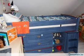 lit enfant bureau lit enfant et bureau gami regate bleu a vendre 2ememain be