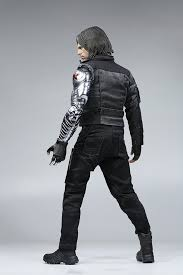 1/6 Winter Soldier Bucky Barnes With Mechanical Arm Captain ... Bucky Barnes Winter Soldier Best Htc One Wallpapers Review Captain America The Sticks To Marvel Picking Joe Pavelskis Fear Fin Preview Bucky Barnes The Winter Soldier 4 Comic Vine Marvels Civil War James Buchan Mask Replica Cosplay Prop From Is In 3 2 Costume With Lifesize Cboard Cout Sebastian Stan Pinterest Stan