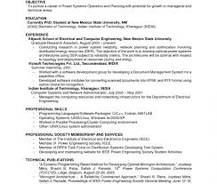 Resume Examples For College Students With Norience Work Pdf Sample Within Professional Student