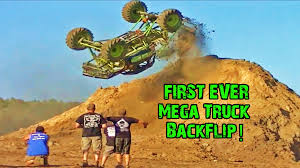 100 Monster Truck Backflip Worlds First Mega Busted Knuckle Films