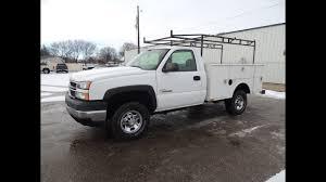 100 Chevy Service Truck 2006 Silverado 2500HD _ _ Duramax _ Stock 0488
