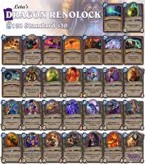 with all them zoo decks i would almost forget renolock today with