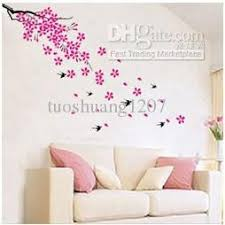 SPRING FLOWERS REMOVABLE Wall Decor Sticker DM0011 Online With 984 Piece On Tuoshuang1207s Store