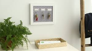 Decorative Key Rack For Wall by Diy Key Rack Martha Stewart Youtube