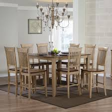 Wayfair Kitchen Pub Sets by Steve Silver Crosspointe 9 Piece Counter Height Dining Table Set