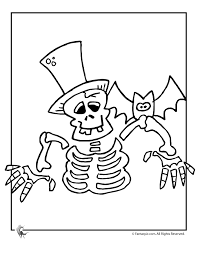 Printable Skeleton For Halloween