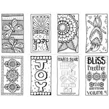 Coloring Books For Adults Bliss Breather Mini Book