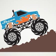 Monster Truck Wall Decal Personalized Name For Boys Room Decor ... Monster Truck Wall Decal Personalized Name For Boys Room Decor With Decalmonster Decorwall Etsy Vinyl By Homesweetwalls On 5800 Red Blue Sticker Transport Sport Decals Stickers Car Pickup Garage Megalodon Huge Officially Licensed Jam Removable Wallpops Multicolor Outrageous Trucks Decalwpk2576 The Home Lightning Mcqueen Grave Digger Pack Decalcomania Cars And Warrior Giant Dragon Launch Os_mb592