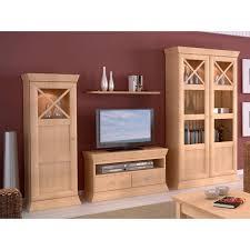 casamia wohnwand wohnzimmer schrank set quadro vitrine 1trg lowboa farbe pinie karamell beleuchtung ohne beleuchtung