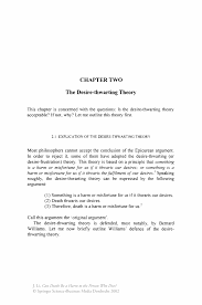 Medical Front Desk Resume Objective by The Desire Thwarting Theory Springer