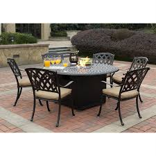 Darlee Patio Furniture Quality by Shop Darlee Ocean View 7 Piece Aluminum Patio Conversation Set At