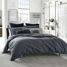 Kenneth Cole Bedding by Amazon Com Kenneth Cole Douglas King Duvet Cover Set Navy Blue