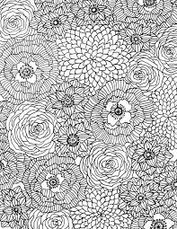 Free Flower Coloring Download From Alisa Burke