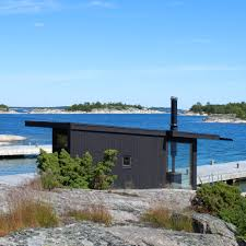 100 Homes For Sale In Stockholm Sweden Blackened Timber Holiday Homes Modelled On Swedish Fishing Huts