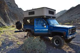 100 Pop Up Truck Camper Mojave Rd And Death Valley Trip In A 78 Chevy With A Custom