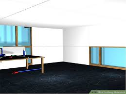 Hanging Drywall On Ceiling Or Walls First by How To Hang Sheetrock With Pictures Wikihow