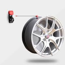35kg Tire Wheel Hub Hook Shop Display Stand Metal Holder Rack Wall Mounted Racing Car Hanging Boss In Hooks Rails From Home Garden