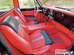 100 Custom Truck Interior Ideas Pin By Greg Nickerson On 6772 C10 Interior C10 Trucks