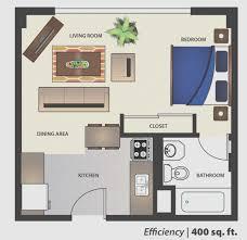100 500 Square Foot Apartment Sq Ft Floor Plan