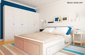 White Blue Bedroom Ideas For Paint Color Combinations Rugs And Pillows