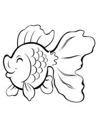 Cute Cartoon Gold Fish Coloring Pages Printable And Book To Print For Free Find More Online Kids Adults Of