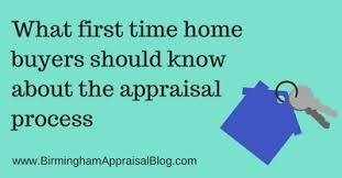 What first time home ers should know about the appraisal