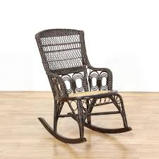 100 Woven Cane Rocking Chairs This Tropical Rocking Chair Is Featured In A Woven Wicker Rattan