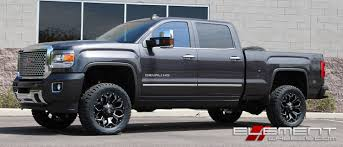 GMC Sierra 2500/3500 Wheels | Custom Rim And Tire Packages