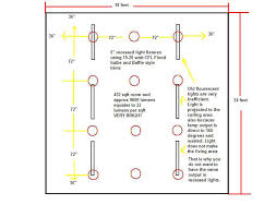 recessed lighting recessed lighting placement guide layout