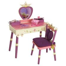 princess vanity table chair set pink levels of discovery