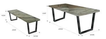 emejing standard dining room table size images home design ideas