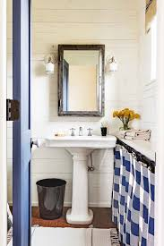 Blue And White Tile Bathroom Ideas New 37 Rustic Bathroom Decor ... Modern Bathroom Design Ideas With Walk In Shower Ideas 26 Doable Victorian Plumbing Contemporary Bathrooms Pinterest Creative Decoration Condominium Design Photos Malaysia Atapco 37 Amazing Midcentury Modern Bathrooms To Soak Your Nses Tiles Elle Decor 25 Best 30 Luxury Homelovr Apollo Btw Curved Bath With White Brick Wall 19 Masculine Master