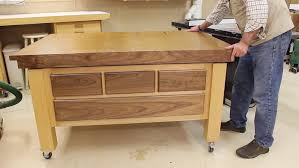 Sawstop Cabinet Saw Outfeed Table by Down To Earth Woodworkingdown To Earth Woodworking