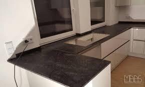 frankfurt granit küchenarbeitsplatten steel grey