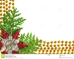 Decorate Christmas Tree Garland Beads by Christmas Beads Garland Decoration Framework Royalty Free Stock