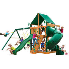 Gorilla Playsets Mountaineer With Timber Shield Cedar Playset-01 ... Backyard Discovery Dayton All Cedar Playset65014com The Home Depot Woodridge Ii Playset6815com Big Cedarbrook Wood Gym Set Toysrus Swing Traditional Kids Playset 5 Playground And Shenandoah Playset65413com Grand Towers Allcedar Playsets Amazoncom Kings Peak Monterey Playset6012com Wooden Skyfort
