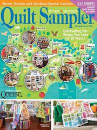 Fiddlesticks Quilt Shop A Quilt Sampler magazine Featured Shop