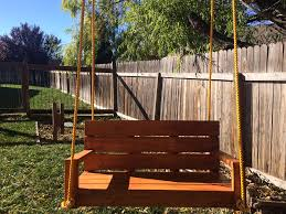 56 DIY Porch Swing Plans [Free Blueprints] - MyMyDIY | Inspiring ... Freestanding Aframe Swing Set 8 Steps With Pictures He Got Bored With His Backyard So Tore It Down And Pergola Canopy Fniture Free Pergola Plans You Can Diy How To Build A Arbor Howtos Diy Nearly Handmade Building Stairs For The Club House To A Fort Outdoor Goods Simpleeasycheap Porbench 2x4s Youtube Discovery Weston Cedar Walmartcom Combination Playhouse And Climbing Wall How Porch Made From Pallets Simple Ideas All Home For Tim Remodelaholic Tutorial An Amazing Firepit
